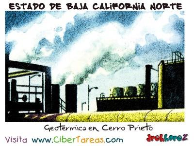 Geotérmica en Cerro Prieto - Estado de Baja California Norte