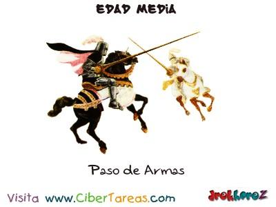 Paso de Armas - Edad Media