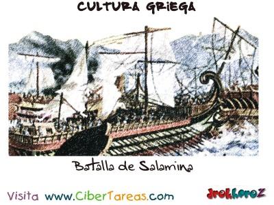 Batalla de Salamina - Cultura Griega