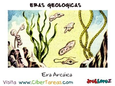 Era Arcaica - Eras Geologicas