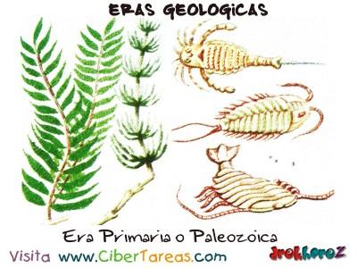 Era Primaria o Paleozoica - Eras Geologicas