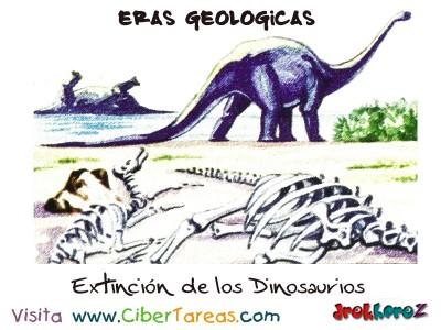 Extincion de los Dinosaurios - Eras Geologicas