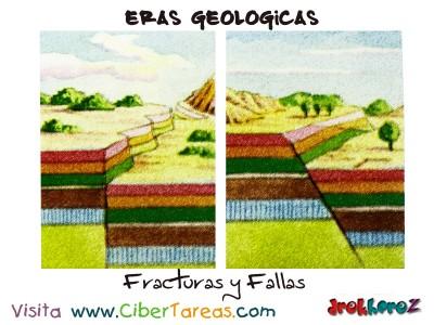 Fracturas y Fallas - Eras Geologicas