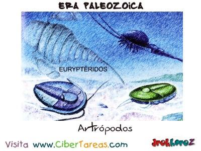 Artropodos - Era Paleozoica Prehistoria
