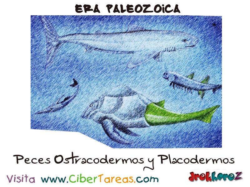 Los Peces Ostracodermos y Placodermos – Era Paleozoica | CiberTareas