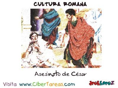Asesinato de Cesar - Cultura Romana