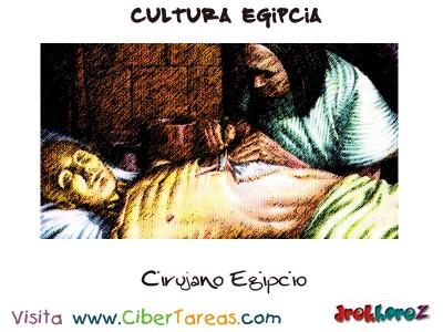 Cirujano Egipcio - Cultura Egipcia