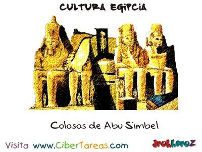 Colosos de Abu Simbel - Cultura Egipcia