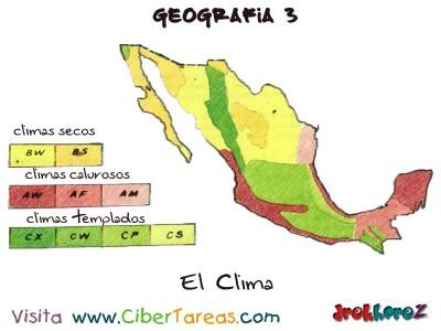 El Clima - Geografia Mexico 3