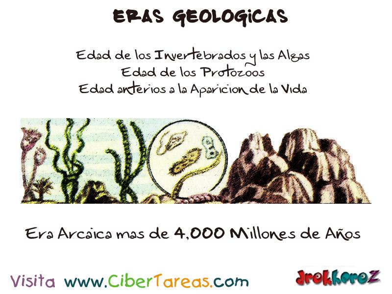 Las Eras Geológicas | CiberTareas