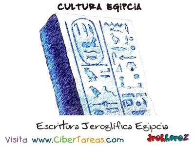 Escritura Jeroglifica - Cultura Egipcia