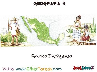 Grupos Indigenas - Geografia Mexico 3