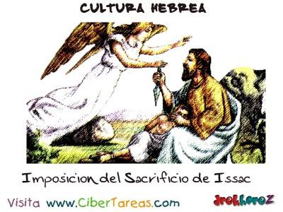 Imposicion del Sacrificio de Issac - Cultura Hebrea