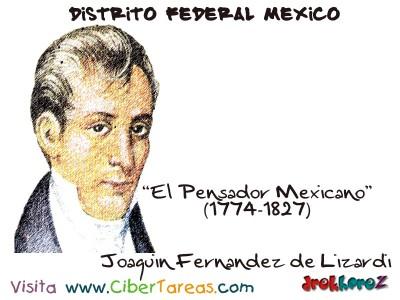 Joaquin Fernandez de Lizardi - Distrito Federal Mexico