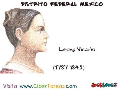 Leona Vicario - Distrito Federal Mexico