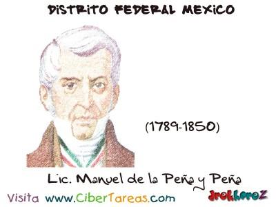 Manuel de la Peña y Peña - Distrito Federal Mexico