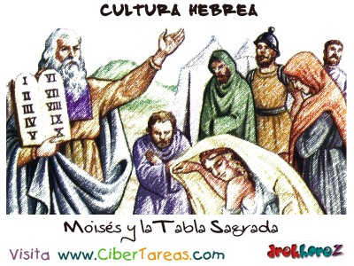 Moises y la Tabla Sagrada - Cultura Hebrea