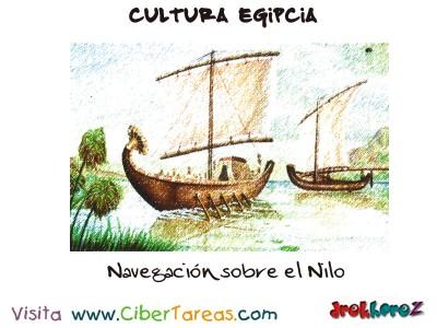 Navegacion del Nilo - Cultura Egipcia