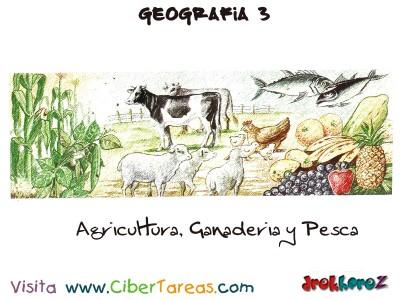 Agricultura Ganaderia y Pesca - Geografia Mexico 3