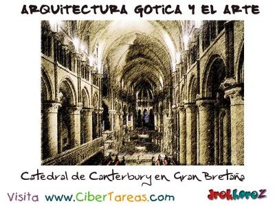 Catedral de Canterbury Interior - Arquitectura Gotica y el Arte