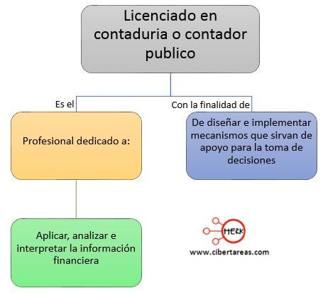 Concepto y funciones del contador o licenciado en contaduria