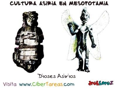 Dioses Asirios - Cultura Asiria en Mesopotamia