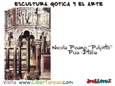 Nicola Pisano - Escultura Gotica y el Arte