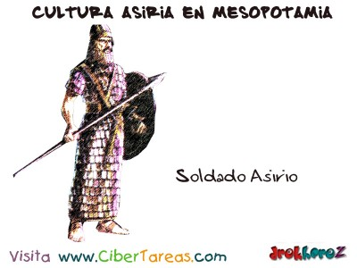 Soldado Asirio - Cultura Asiria Mesopotamia