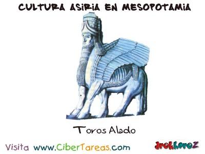 Toros Alado - Cultura Asiria Mesopotamia