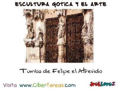 Tumba de Felipe el Atrevido - Escultura Gotica y el Arte