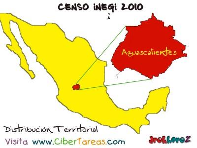 Ubicacion Territorial de Aguascalientes - Censo INEGI 2010