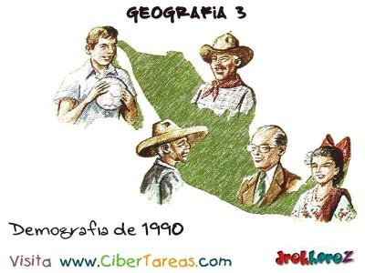 Demografia de 1990 - Gepgrafia Mexico 3