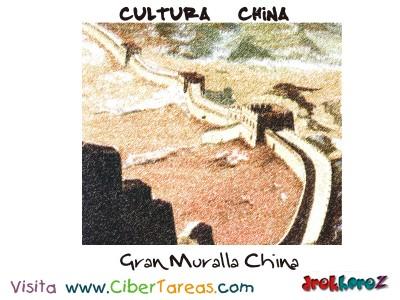Gran Muralla China- Cultura China