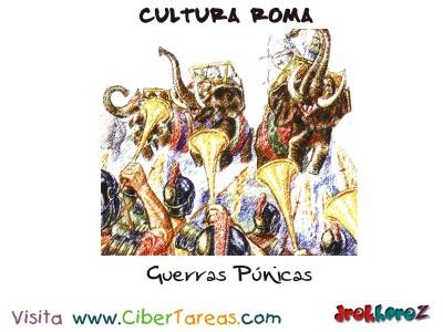 Guerras Punicas - Cultura Romana