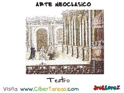Teatro - Arte Neoclasico