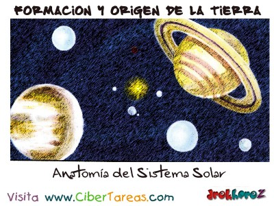 Anatomia del Sistema Solar - Formacion y Origen de la Tierra