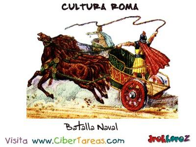 Carrera de Cuadrigas - Cultura Romana