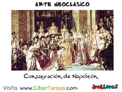Consagracion de Napoleon - Arte Neoclasico