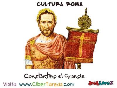 Constantino el Grande - Cultura Romana