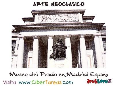 Museo del Prado en Madrid España - Arte Neoclasico