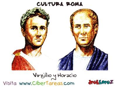 Virgilio y Horacio - Cultura Romana