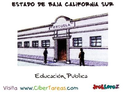 Educacion Publica - Estado de Baja California Sur