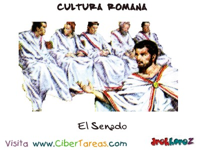 El Senado - Cultura Romana