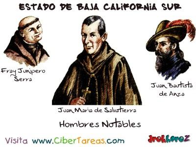 Hombres Notables - Estado de Baja California Sur
