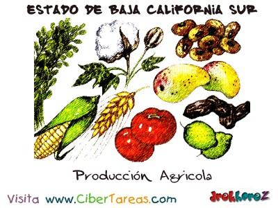 Produccion Agricola - Estado de Baja California Sur
