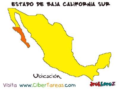 Ubicacion - Estado de Baja California Sur
