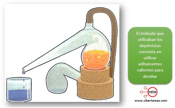 destilacion quimica