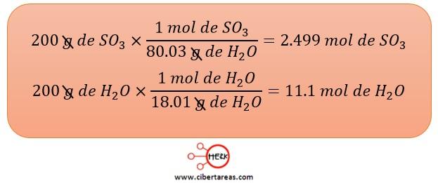 determinacion del reactivo limitante quimica 2