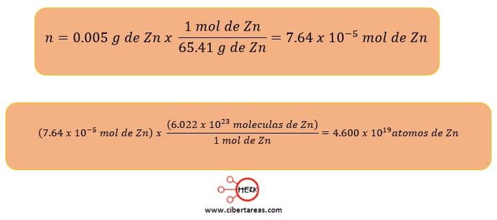 Mol – Química 2 | CiberTareas