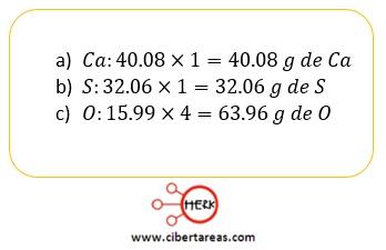 ejemplo ley de las proporciones definicas o de proust composicion porcentual